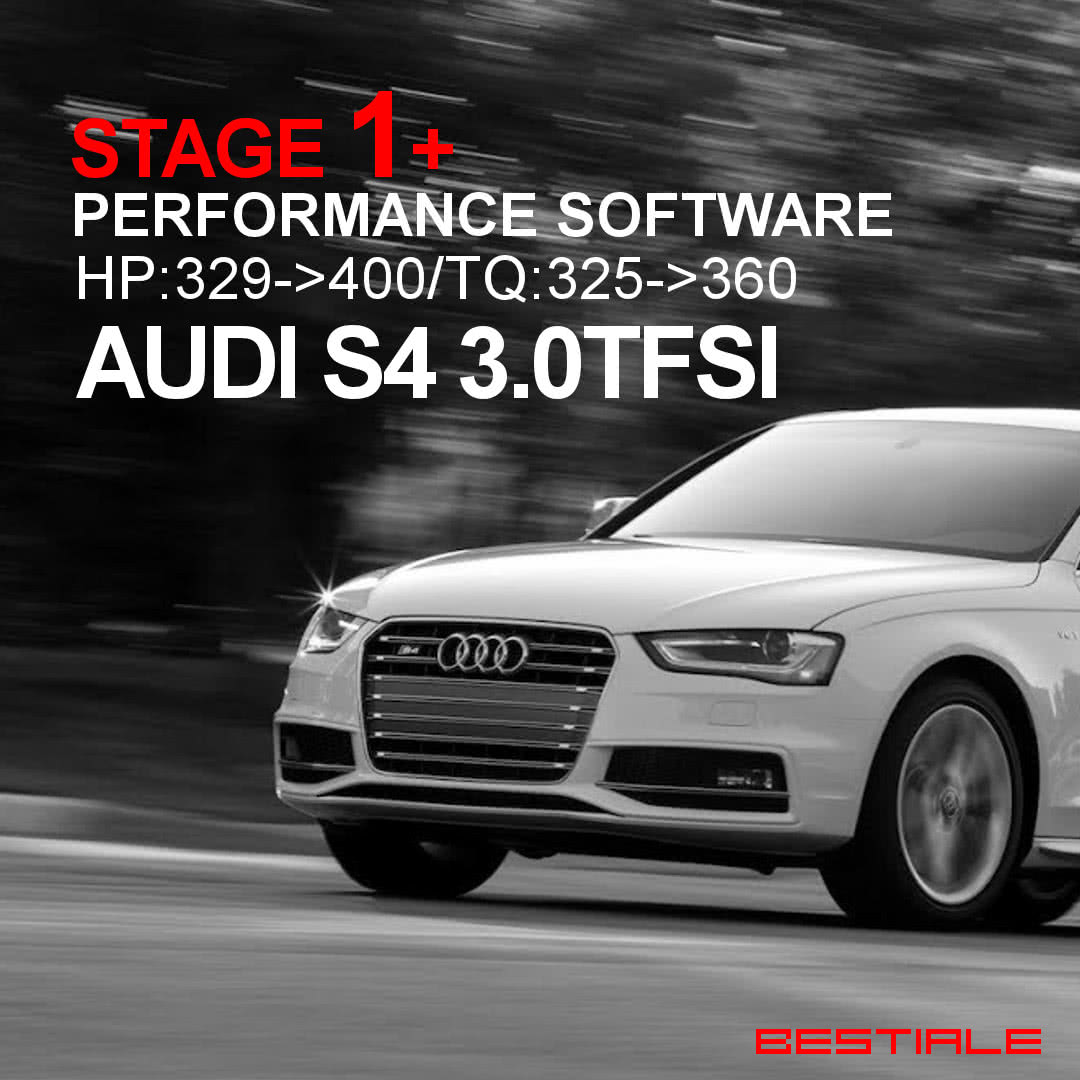 Audi S4 B8.5 ECU Upgrade Stage 1 Plus From GIAC At Bestiale